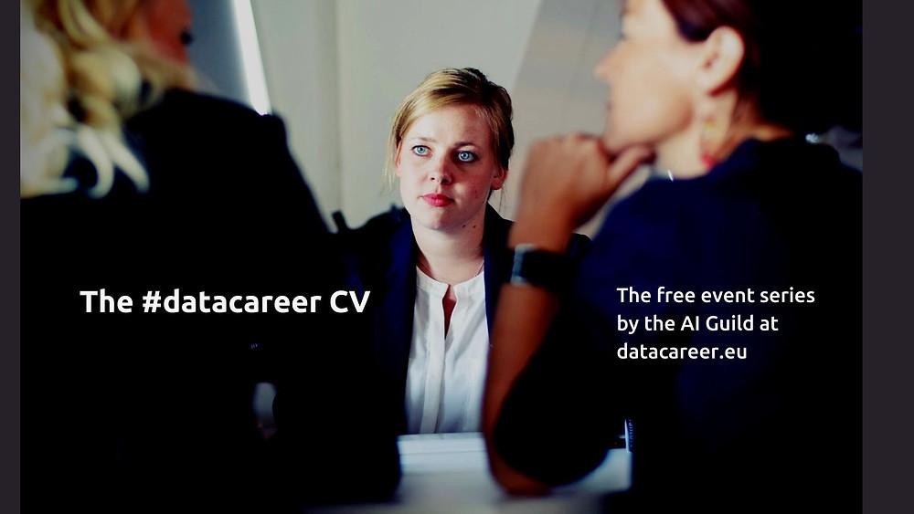 Preparing The #datacareer CV