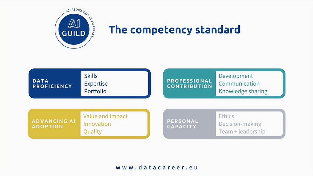 The AI Guild competency standard for top-level experts.