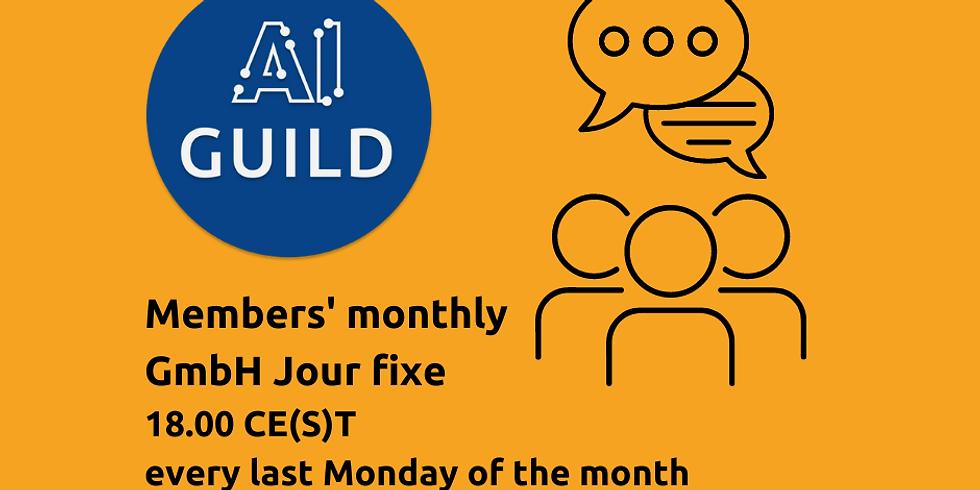Monthly GmbH Jour fixe