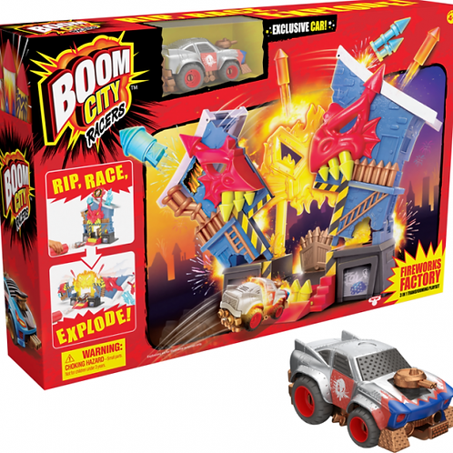 Boom City Racers Fireworks Factory