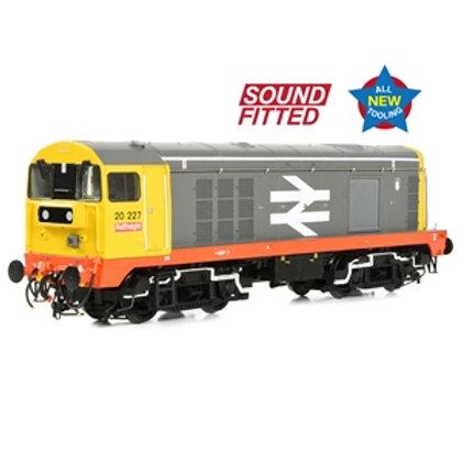 Class 20/0 Headcode Box 20227 BR Railfreight (Red Stripe)
