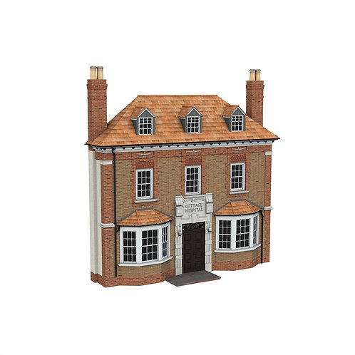 Scenecraft 44-0204 Low Relief Cottage Hospital