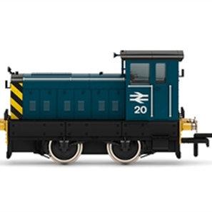 Hornby R3897 Ruston 88DS 4wDM diesel shunter 20 in BR blue