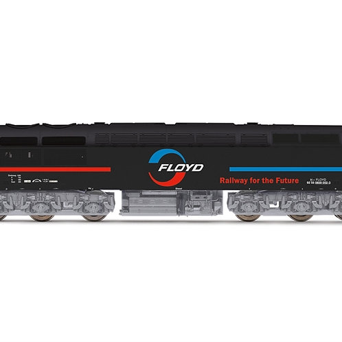 Hornby R3888 Class 56 659 002 (ex-56115) in Floyd Zrt. livery