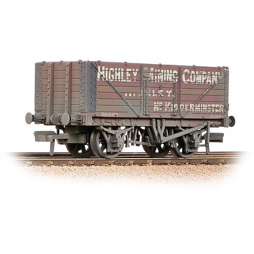 Bachmann 37-093 7 Plank End Door Wagon 'Highley Mining Company Ltd' Weathered