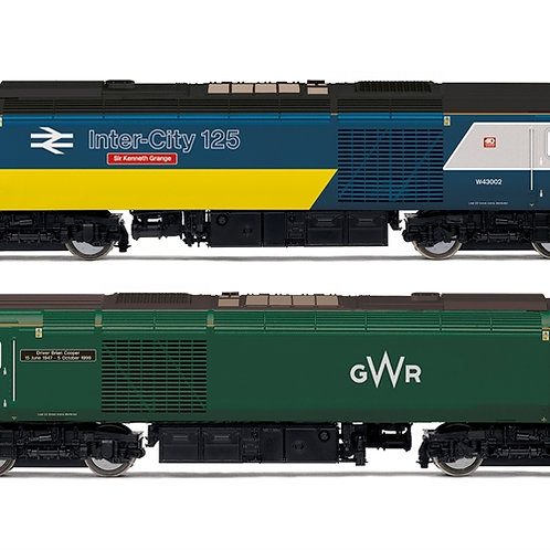 Hornby R3770 Pair of Class 43 HST Power Cars Intercity and GWR livery