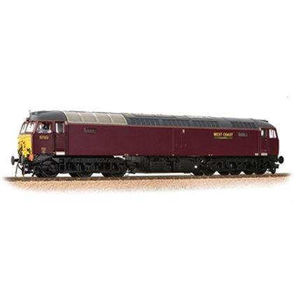 Class 57/3 57313 WCRC Maroon