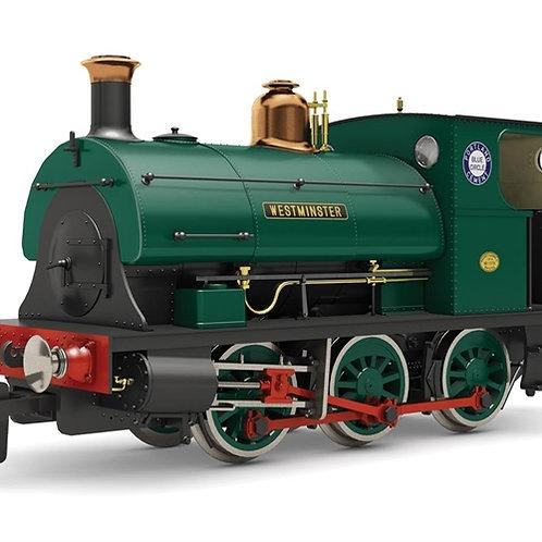 """Hornby R3694 Class B2 Peckett 0-6-0ST """"Westminster"""" Portland cement livery"""