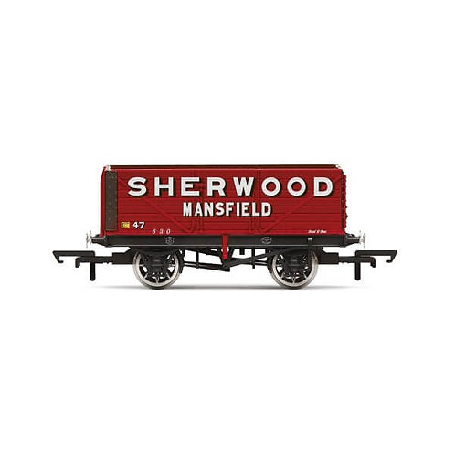 "Hornby R6903 7-plank open wagon ""Sherwood Colliery, Mansfield"""