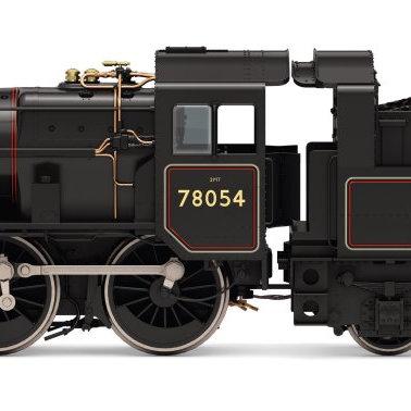R3981 Hornby BR Standard Class 2MT 2-6-0 Steam Loco number 78054