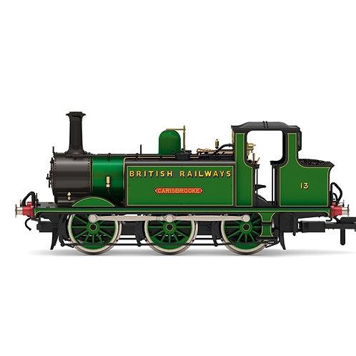 Hornby R3848 Class A1X Terrier 06-0T 13 'Carisbrooke' in SR malachite green BR