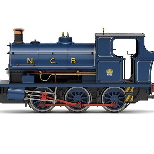Hornby R3695 Class B2 Peckett 0-6-0ST 1455 in National Coal Board lined blue