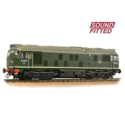 Class 24/1 D5135 BR Green (Late Crest)