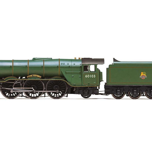 BR, A3 Class, 4-6-2, 60103 'Flying Scotsman' (diecast footplate and flickeirng f