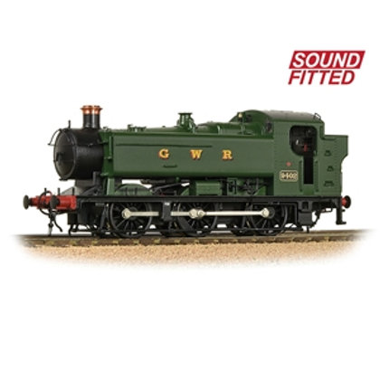 Bachmann Branchline 35-025 Class 94xx 0-6-0T 9402  in GWR Green (Sound Fitted)