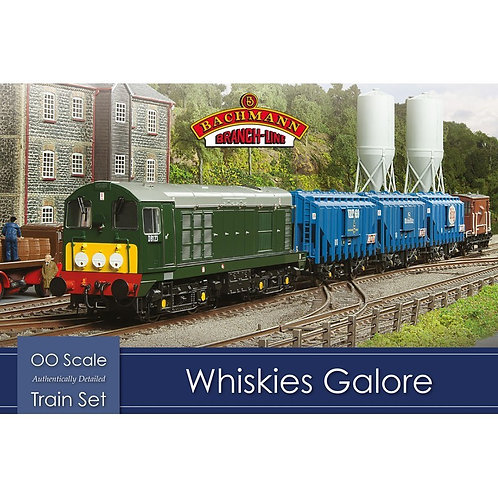 Bachmann Branchline 30-047 Whiskies Galore train set with Class 20 in BR green