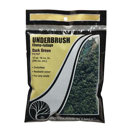 Woodland Scenics FC137 Underbrush Dark Green
