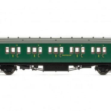 Hornby R4734 SR Maunsell Corridor 1st Class Coach 7406