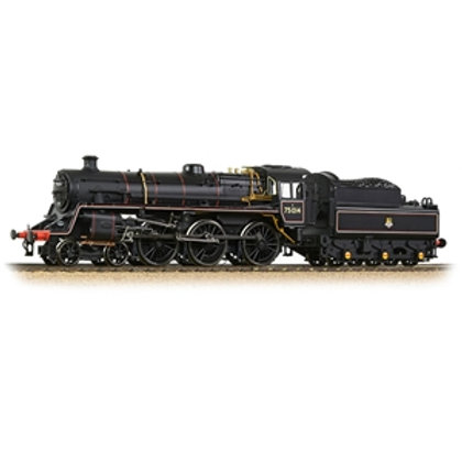 BR Standard 4MT BR2 Tender 75014 BR Lined Black (Early Emblem)