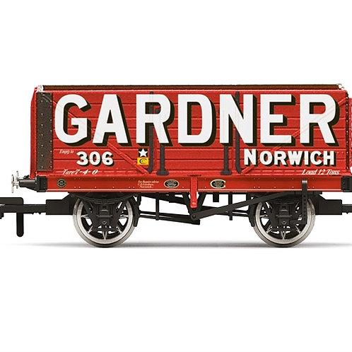 Hornby R6951 7-plank open wagon Gardner No. 306