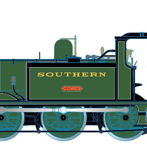 """Hornby R3812X SR Terrier W10 """"Cowes"""" Isle of Wight Southern DCC Fitted"""
