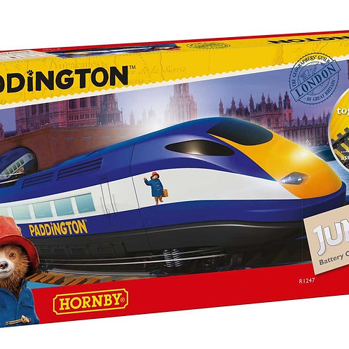 "R1247 Hornby Junior Train Set - ""Paddington Bear"" - battery powered set"