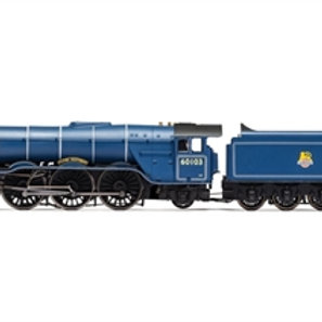 "Hornby R3627 Class A3 4-6-2 60103 ""Flying Scotsman"" in BR express passenger blue"