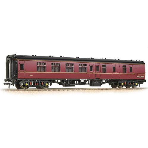 Bachmann 39-083 Mk1 BSK brake 2nd corridor 99723 in West Coast Railways maroon