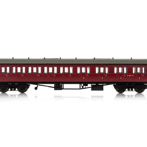 Hornby R4879A Collett 57' 'Bow ended' non-corridor composite (Right-hand) W6242W