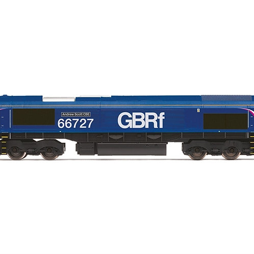 Hornby R3881 Class 66 66727 'Andrew Scott CBE' in GBRf/First livery