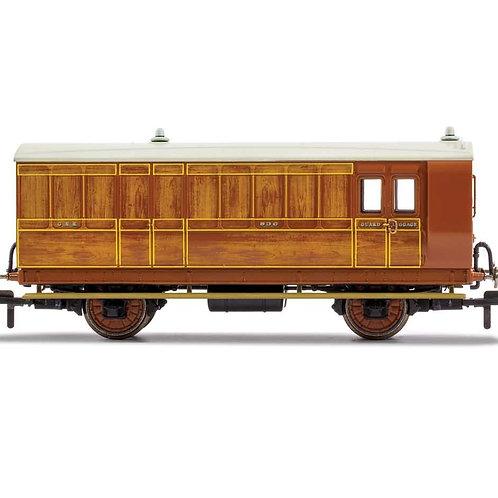 Hornby R40060 GNR, 4 Wheel Coach, Brake Baggage, 836 - Era 2