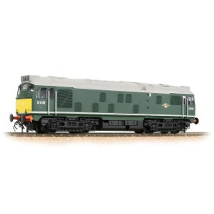 Bachmann 32-441 Class 24/1 D5149 BR Green small yellow panels (Late Crest)