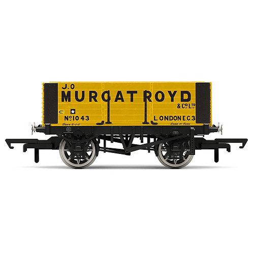 """Hornby R6873 6-plank open wagon """"J.O. Murgatroyd"""""""