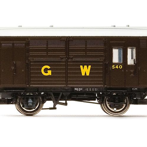 Hornby R6972 N13 Horse Box 540 in GWR brown