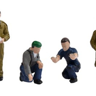 00 Gauge figures Factory Workers and Foreman