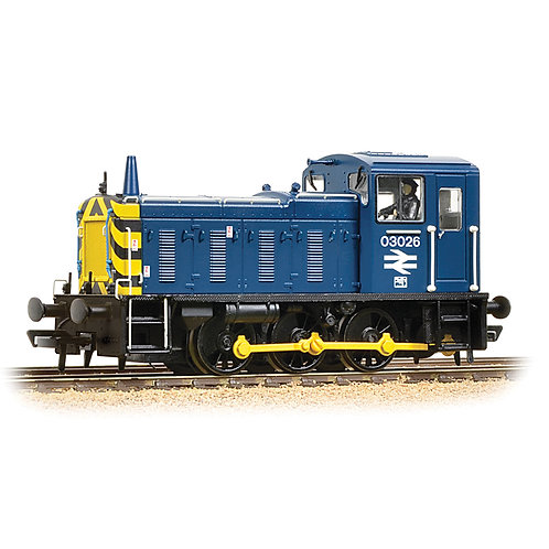 Bachmann Branchline 31-368DS Class 03 03026 in BR blue - DCC sound fitted