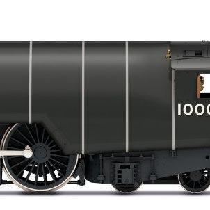 R3979 Hornby W1 Hush Hush 4-6-4 Steam Loco number 10000 LNER