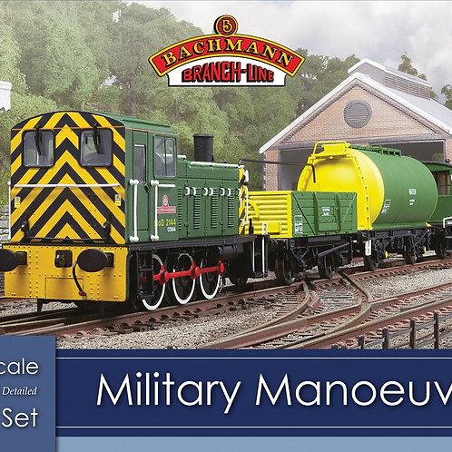 Bachman 30-130 Military Manoeuvres Train Set