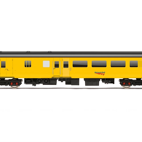 Hornby R4992 Mk2D support coach 9481 in Network Rail yellow