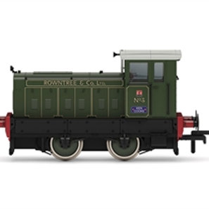 """Hornby R3895 Ruston 88DS 4wDM diesel shunter """"Rowntree and Co No.3"""