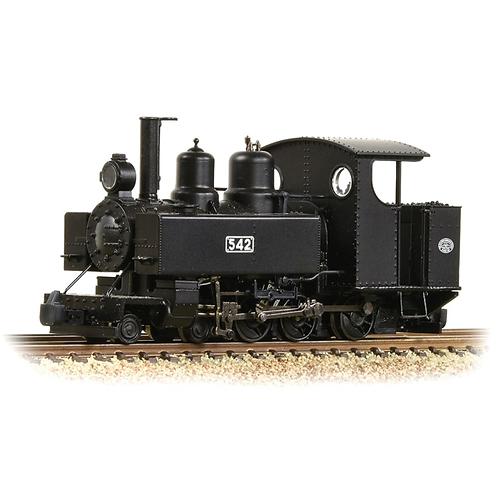Bachmann Branchline 391-025A Baldwin Class 10-12-D 4-6-0T 542 in WW1 ROD black