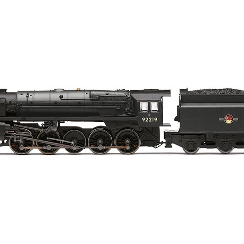 Hornby R3942 Class 9F 2-10-0 92219 in BR black with late crest - Railroad range