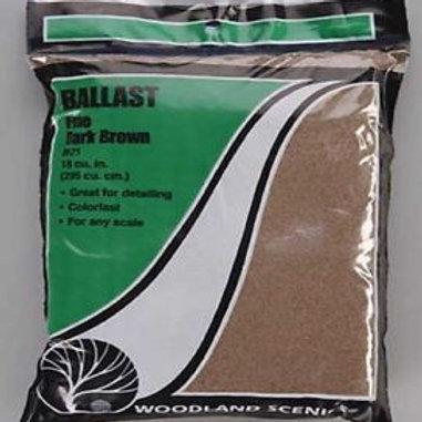 Woodland Scenics B71 Fine Dark Brown Ballast
