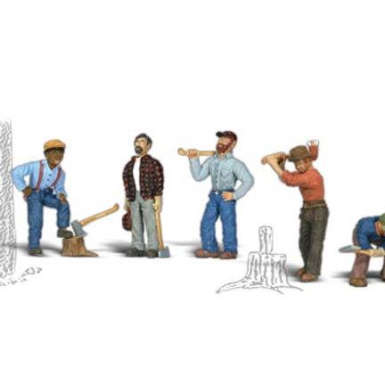 00 Gauge Figures Lumberjacks