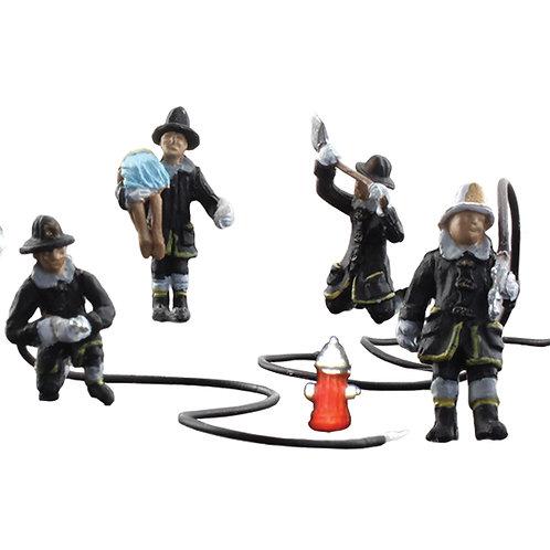 00 Gauge Figures Firefighters
