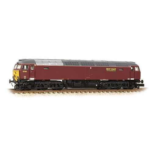 Graham Farish 371-658 Class 57/3 57313 in West Coast Railway Company maroon