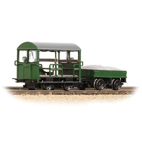 Bachmann Branchline 32-994 Wickham Trolley Type 27 in BR engineers green