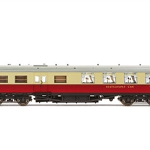 Hornby R40029 Maunsell kitchen dining first saloon S7998S in BR crimson /cream