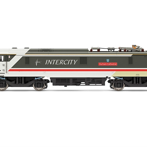 Hornby R3890 Class 91 91002 'Durham Cathedral' in Intercity Swallow livery