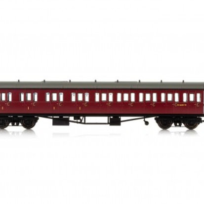 Hornby R4878A Collett 57' 'Bow ended' non-corridor composite (Left-hand) W6237W